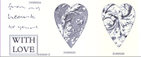 Elusive Images From My Heart Set Unmounted Rubber Stamp Set