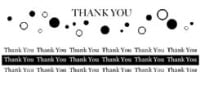Thank You Stamp Set - Elusive Images