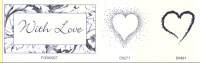 Elusive Images With Love Set Unmounted Rubber Stamp Set