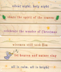 Hero Arts Messages of Christmas