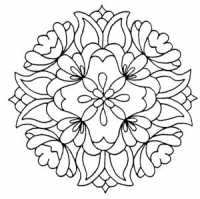 Holly Berry House Precocious Peony Medallion Stamp