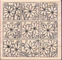 Nine Square Flower Block