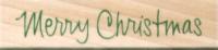 Hero Arts Handwritten Merry Christmas