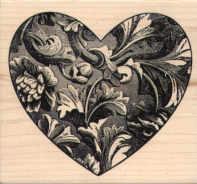Magenta - Carved Heart