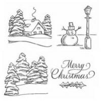 Judikins - Merry Christmas Cube