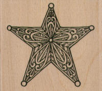 Star with Swirls