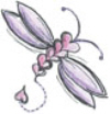 Stamp It - Heart Dragonfly - Small