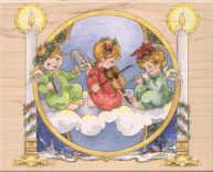 Stamps Happen - Musical Angels