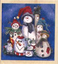 Stamps Happen - Snowman Collection