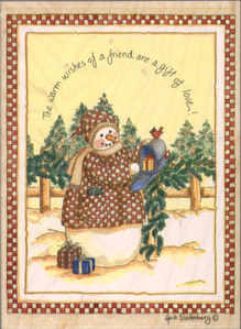 Stamps Happen - The Warm Wishes of a Friend