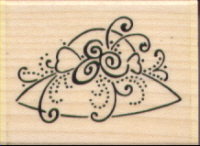Stampendous - Frilly Hat