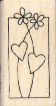 Stampendous - Love Window