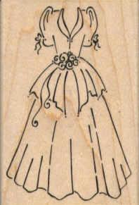 Stampendous - Wedding Dress
