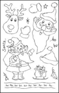 Woodware Clear Magic - Dear Santa