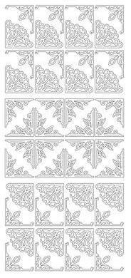 Peel Off Stickers - Fancy Corners