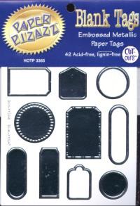 Paper Pizazz Blank Tags