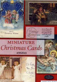 Miniature Christmas Cards - Angels
