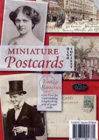 Miniature Postcards - High Society
