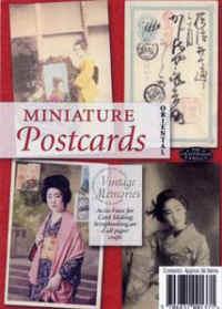 Miniature Postcards - Oriental