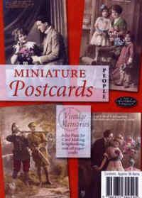 Miniature Postcards - People