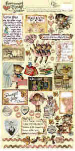Heartwarming Vintage Stickers - Little Girls