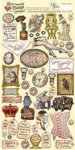 Heartwarming Vintage Stickers - Wonderful Women