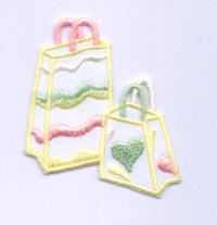 Iron on Motif - Handbags - Pastel