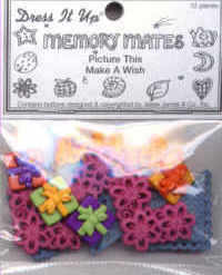 Buttons - Picture This Pack - Make A Wish