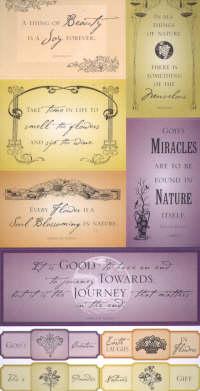Vineyard Nature Stickers