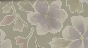 Deja Views - Sharon Ann - Green Garden - Soft Floral on Green