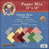 Paper Adventures - Blue Jean Teddy - 12