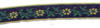 Embroidered Ribbon - Daisy Chain