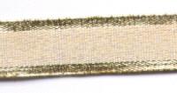 Gold Edge Lurex Ribbon