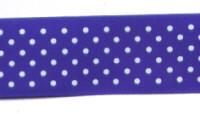 Offray Ribbon - Swiss Dot - Royal Blue