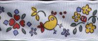 Ribbon - Spring Chicks - White