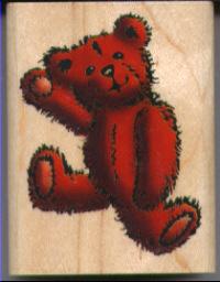 Inkadinkado - Waving Bear