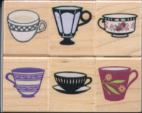Hero Arts - Coffee and Tea Cups