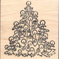 Magenta - Christmas Tree