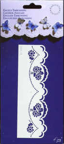 English Embossing Template - 3402