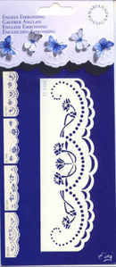 English Embossing Template - 3404
