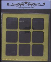 Heritage Handcrafts - Nine Square Frame