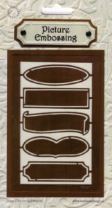 Picture Embossing Template - Banners