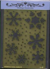 Heritage Handcrafts - It's Snowing