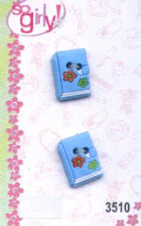 So Girly Button Embellishments