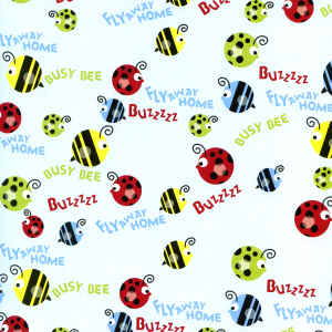 Die Cuts with a View Patterned Paper - Ladybirds & Bees