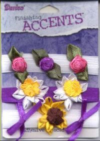 3D Embellishment Kit - Satin Flowers and Bows