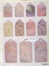 Crystal Stickers - Tags