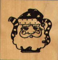 Judikins Teapot Santa