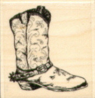 Stampabilities Rubber Stamp - Old Boot
