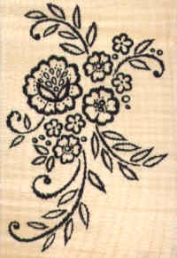 Stampendous - Lace Applique